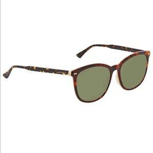 Gucci Sunglasses GG-0196-SK 004 Havana/Green